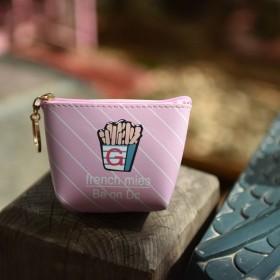 小钱包零钱包女士迷你卡通可爱韩版小清新学生手拿小t