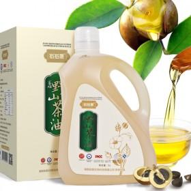 山茶籽油5L 双重有机认证带防伪码 茶油食用油