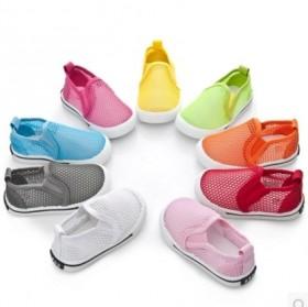 透气童鞋小童休闲鞋男童鞋夏季网面运动鞋网鞋儿童布鞋