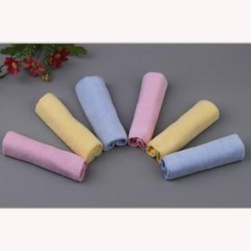 6条装 纯棉小方巾儿童宝宝吸水洗脸全棉成人擦手巾