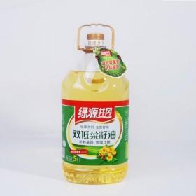绿源井冈 非转基因农家自榨菜油食用油双低菜籽油5L