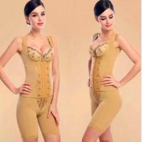 (三件套)中脉金色拉卡美体塑身衣体雕身材管理器