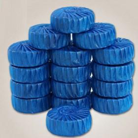 【30枚】清香型洁厕灵蓝泡泡马桶清洁剂洁厕宝