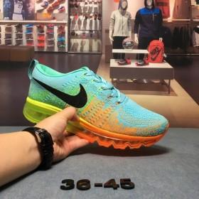 耐克nike飞线气垫休闲跑步运动鞋情侣款36-45