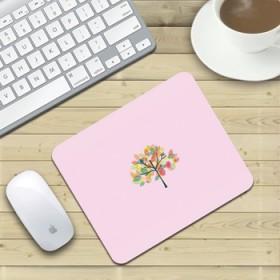 唯美女生笔记本垫可爱小动物清新植物鼠标垫
