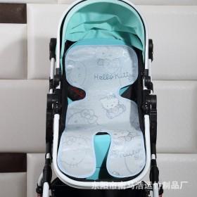 婴儿车手推车夏季冰丝凉席