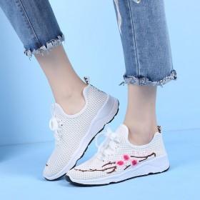 【送运费险】新款时尚运动鞋女系带网鞋
