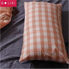 M·SIWI 加大信封  水洗棉枕套枕巾 夏季