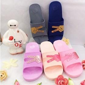 平底手指拖鞋韩版时尚百搭情侣家居一字型拖鞋