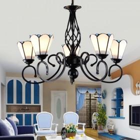 地中海灯饰吸吊两用灯具客厅餐厅卧室书房灯