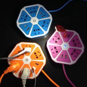智能USB多功能插座创意礼品家居用品生活日常家庭日