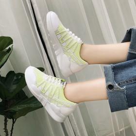 新款韩版糖果粉色帆布鞋女学生系带小白鞋女平底休闲鞋