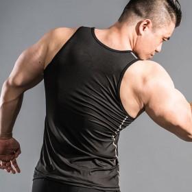 健身背心男运动夏跑步背心篮球透气弹力修身背心