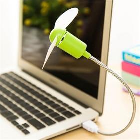 USB自由弯曲蛇形风扇迷你静音设计笔记本USB风扇