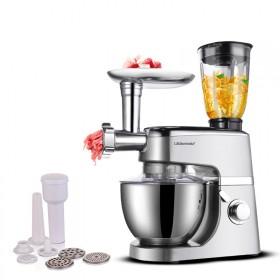 多功能家用厨师机和面机 绞肉机灌肠机榨汁机