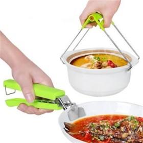 不锈钢防烫夹取碗夹两件套