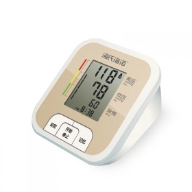 海氏海诺电子血压计上臂式海诺家用语音老人智能全自动