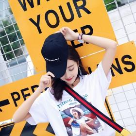 帽子韩版潮时尚棒球帽男女百搭休闲太阳帽春夏季嘻哈刺