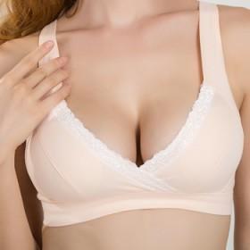 哺乳文胸 孕妇内衣孕妇文胸 无钢圈全棉防下垂纯棉