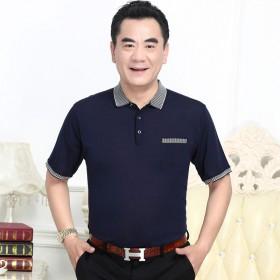 中年短袖爸爸T恤