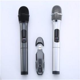 无线录音话筒唱歌K歌家用手机电脑唱吧专用两支装