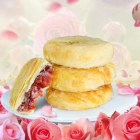 云南特产鲜花饼400克盒装
