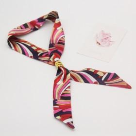 手提包包丝巾窄版小丝带围巾包带配饰发带领巾包邮