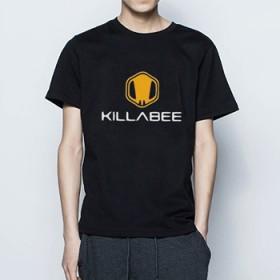 短袖T恤男士纯棉印花修身韩版圆领t恤男半截袖学生体