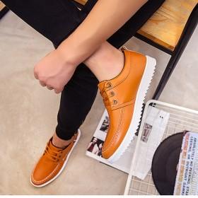 2017夏季新款板鞋男士小白鞋子韩版休闲潮流鞋男学