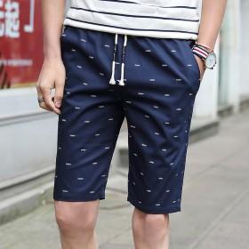 夏季男士休闲短裤男韩5五分裤沙滩裤