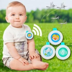 【包邮】 4只装婴幼儿童驱蚊扣孕妇驱蚊天然植物防蚊