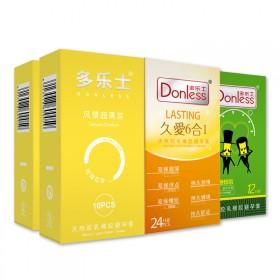 donless旗舰店进口多乐士避孕套人气组合