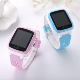 邦思Y21手环儿童智能定位手表电话拍照触屏天气预报