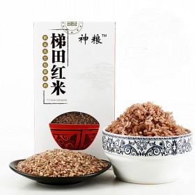 【限地区】礼盒装1kg元阳梯田农家新米红米红粳稻米