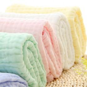 6层纯棉纱布浴巾无荧光0甲醛