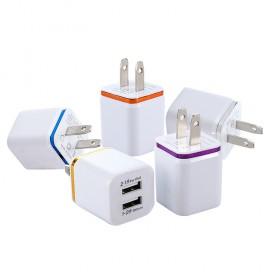 苹果充电头充电器2.1A智能安卓充电头充电器