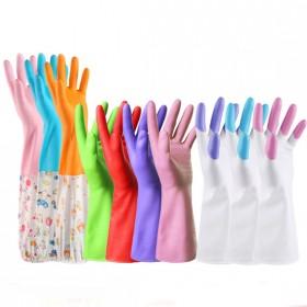 【6双】洗碗手套橡胶乳胶薄款厨房刷碗洗衣清洁