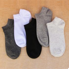 新品夏季薄款船袜纯色浅口袜男款棉袜隐形袜短袜