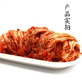 2斤韩式泡菜正宗辣白菜韩国风味泡菜韩国咸菜