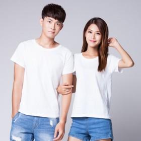 广告衫定制圆领t恤短袖文化衫班服纯棉来图定制