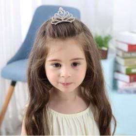 【包邮】 儿童皇冠发箍公主可爱水钻女童发饰宝宝王冠