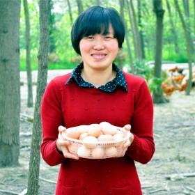 30枚农家散养自养生态纯天然草鸡蛋笨鸡蛋土鸡蛋