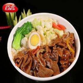 冷冻私房菜盖浇饭料理包姬菇肉片200g速食半成品菜