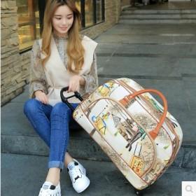 拉杆包手提旅行包学生行李袋防水大容量折叠箱包拉杆箱