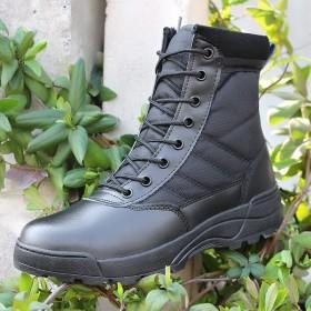 户外夏季07超轻作战靴男特种兵军靴沙漠靴高帮透气