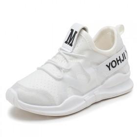 新款秋潮韩版儿童运动鞋时尚透气百搭男女童跑步鞋网面