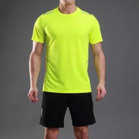男士运动套装男夏季短袖跑步服速干健身T恤短裤