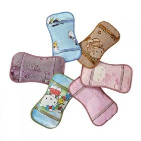 儿童冰丝小枕头茶叶茉莉花枕头