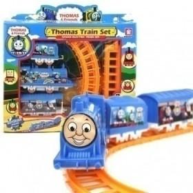 带电池轨道车玩具宝宝儿童玩具车早教益智玩具电动玩具