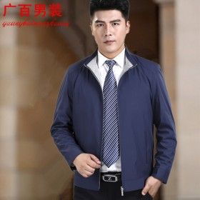 新款商务男士品质外套百搭休闲夹克